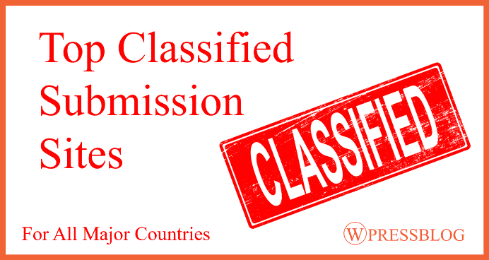 350+ Free Classified Submission Sites List for UK, USA, Australia, India