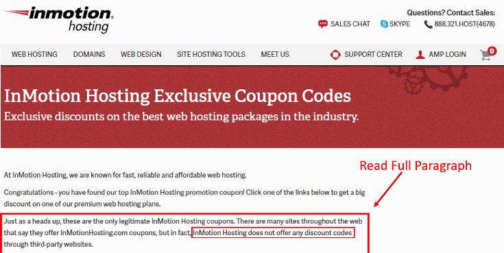 InMotion Hosting Coupon Code 2019