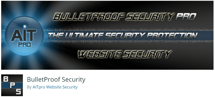 BulletProof Security Best WordPress security Plugins