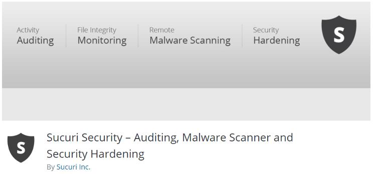 Sucuri Security Best Security Plugins for WordPress