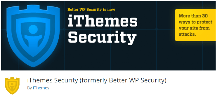 iThemes Security Best Security Plugins for WordPress