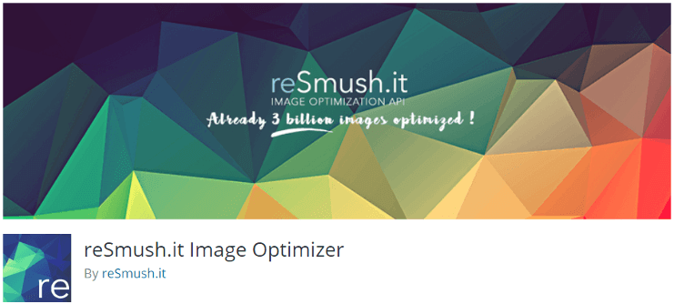 reSmush Image Optimizer plugins for WordPress