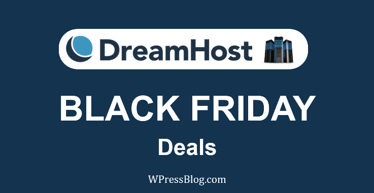 DreamHost Black Friday Deals 2019