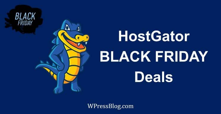 HostGator Black Friday Deals 2019