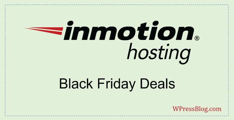 InMotion Hosting Black Friday Deals 2019