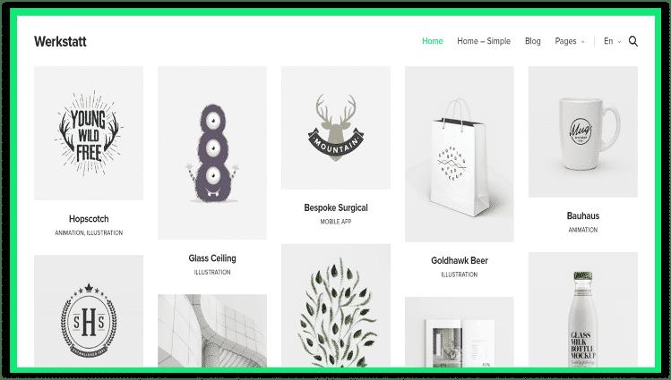 Werkstatt Best Portfolio Themes