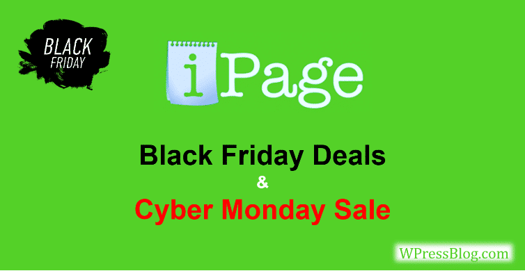 iPage Black Friday Deals 2019