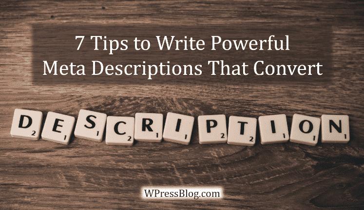 Tips to Write Powerful Meta Descriptions That Convert