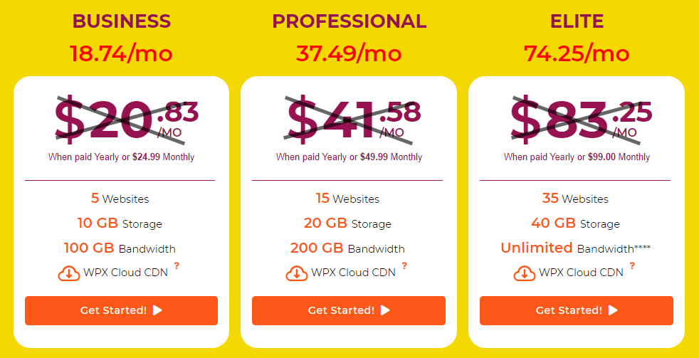 6 Months Free WPX Hosting