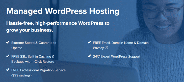 Dreamhost Managed WordPress Hosting