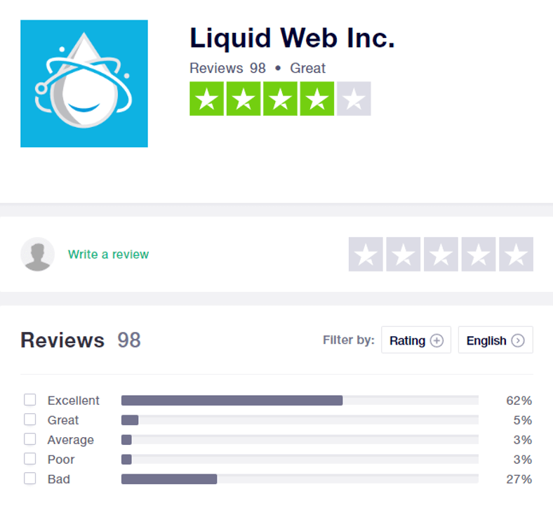 Liquid Web Customer Reviews