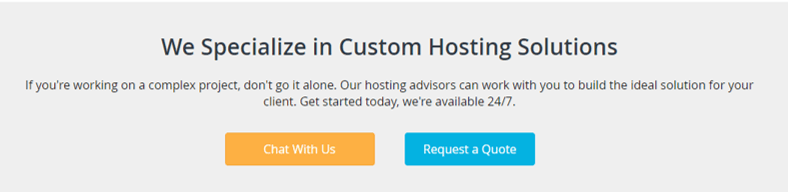 Liquid Web Enterprise Hosting Solution