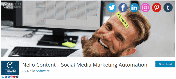 Nelio Content Social Media Marketing Automation