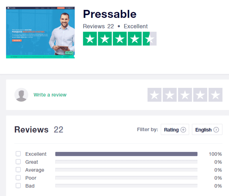 Pressable Customer Reviews