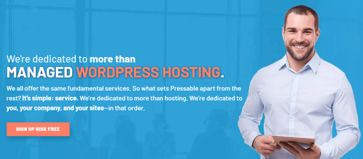 Pressable Managed WordPress Hosting