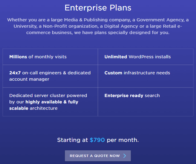 Pressidium Enterprise Plans