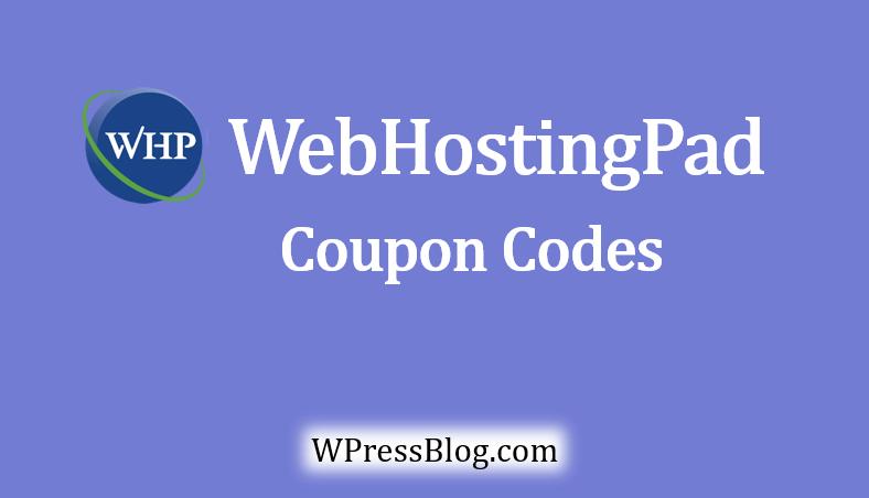 WebHostingPad Coupon Code Discount Promo Code