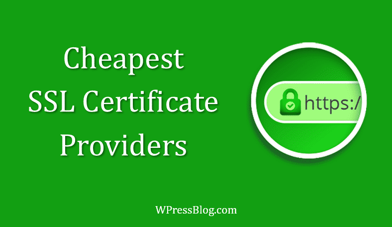 Best and Cheapest SSL Certificate Providers