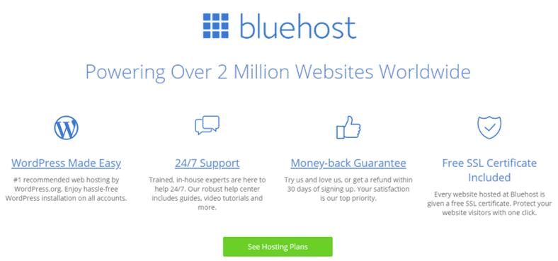 Bluehost Black Friday Web Hosting Deals
