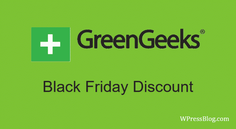 GreenGeeks Black Friday Deals Discount Cyber Monday Sale
