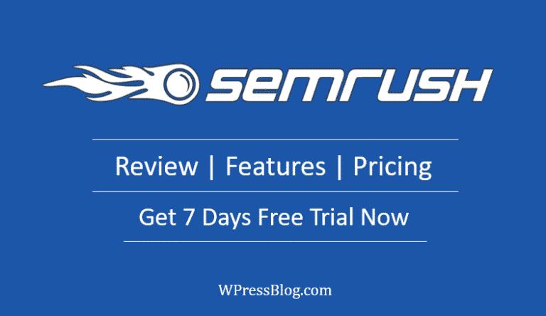 SEMRUSH Features Pricing Alternative