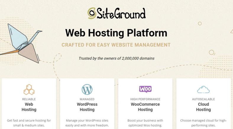 SiteGround Black Friday Web Hosting Deals