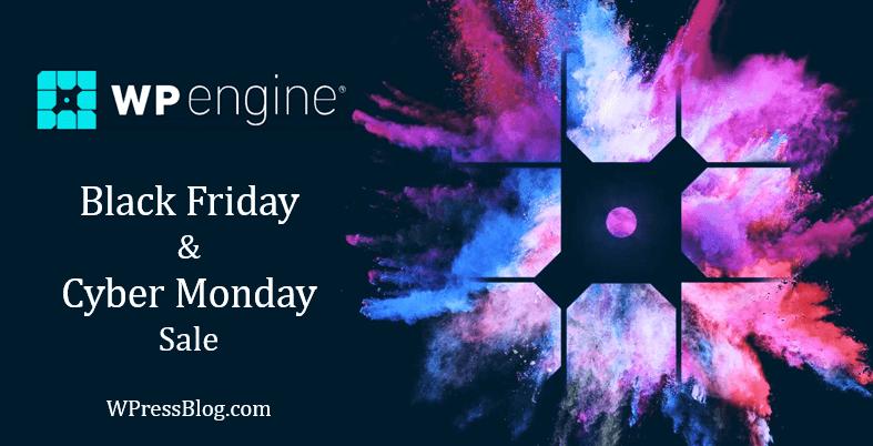 WP Engine Black Friday Cyber Monday Sale