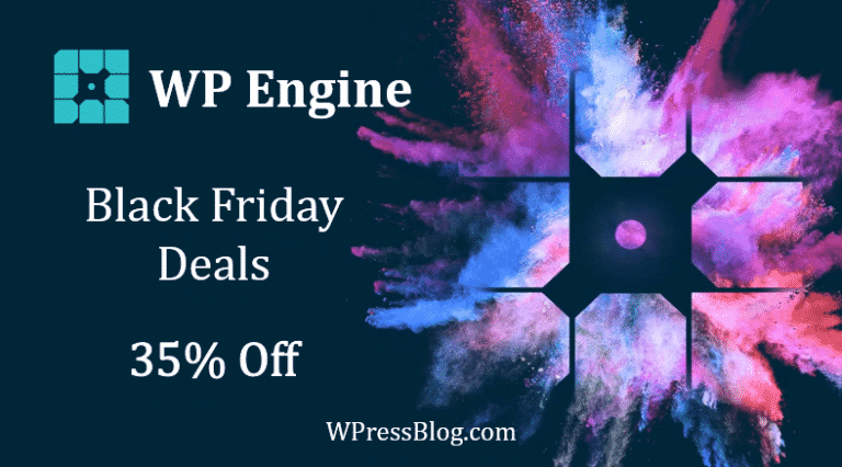 WP Engine Black Friday Deals Cyber Monday Sale Discount