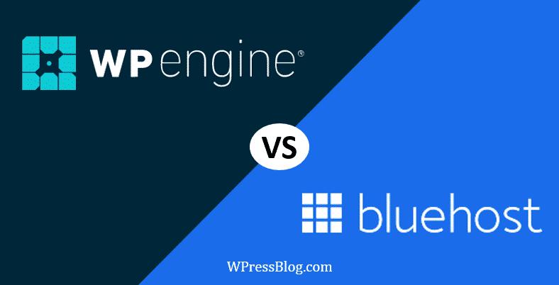 WP Engine vs Bluehost