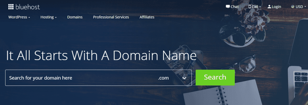 Bluehost One of the Best Domain Name Providers