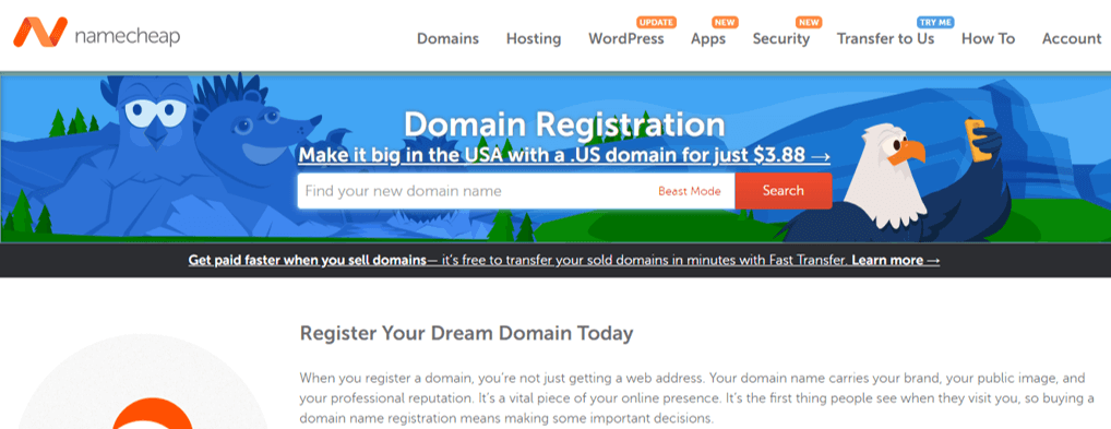 Namecheap Cheapest Domain Name Registar