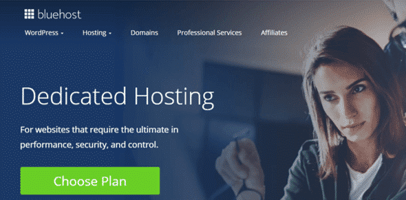 Bluehost Dedicated Server Hosting Provider
