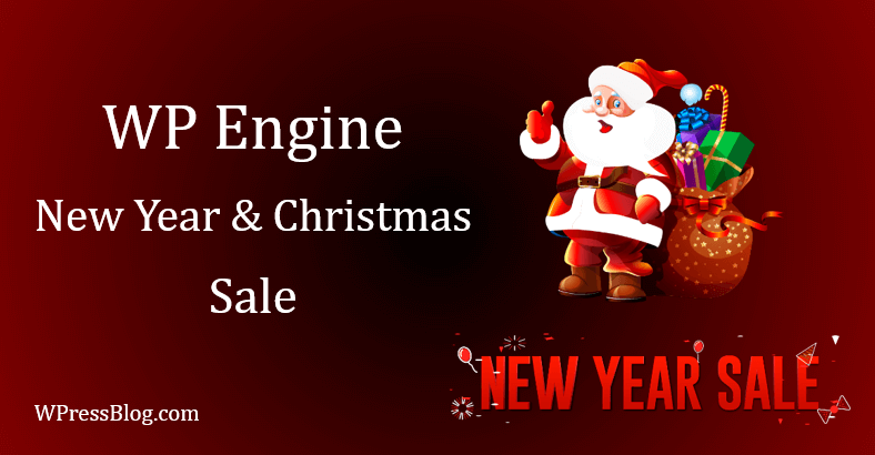 WP Engine Christmas and New Year Sale Offers